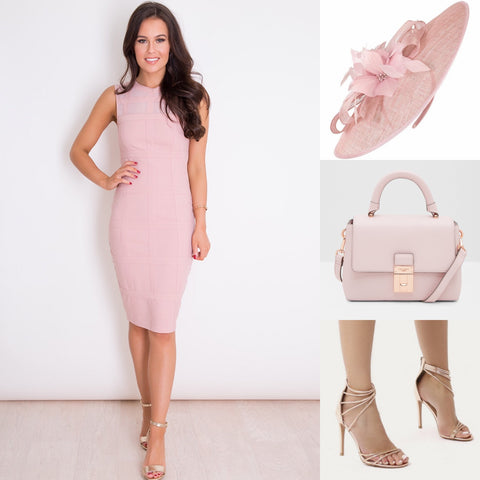 What to wear to a day at the races - outfit inspo - pretty in pink