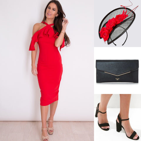 What to wear to a day at the races - outfit inspo - lady in red