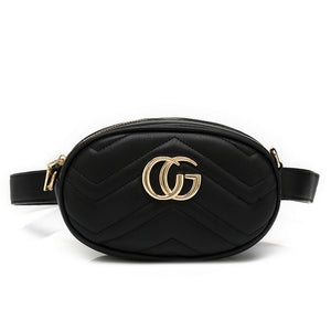 870493b6943a35 Ramona Gucci Inspired Belt Bag - Black – Style Of Beyond