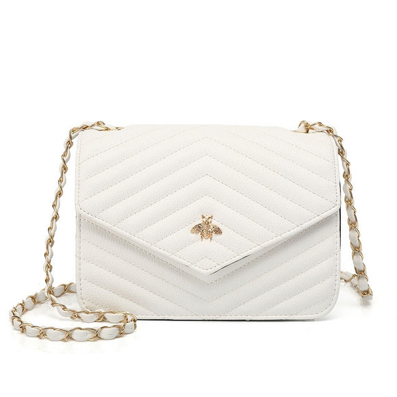 Brenda Bee Gucci Inspired Bag - White