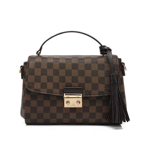 Reign Louis Vuitton Inspired Bag - Brown Check