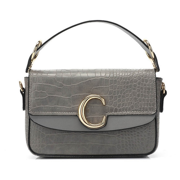 Shelby Chloe Inspired C Bag - Grey