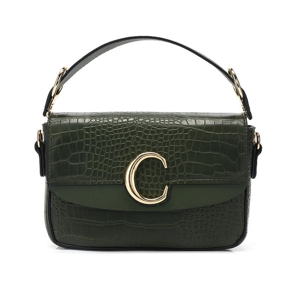 Shelby Chloe Inspired C Bag - Khaki Green