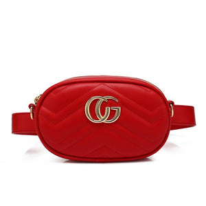 1b34d191ea3 Ramona Gucci Inspired Belt Bag - Red – Style Of Beyond