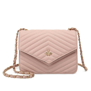 Brenda Bee Gucci Inspired Bag - Pink