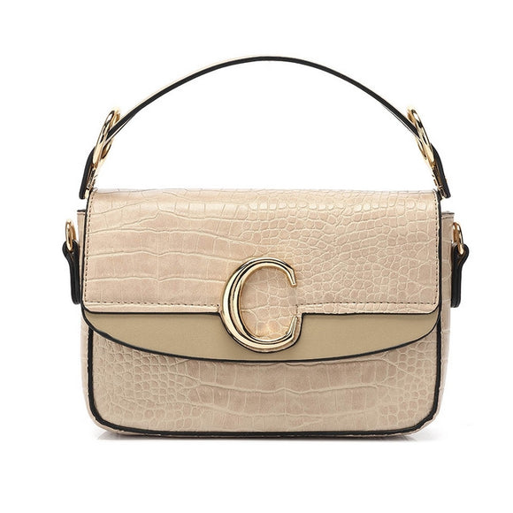 Shelby Chloe Inspired C Bag - Nude