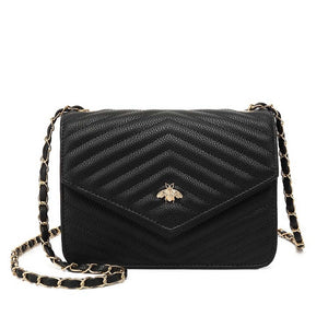 Brenda Bee Gucci Inspired Bag - Black
