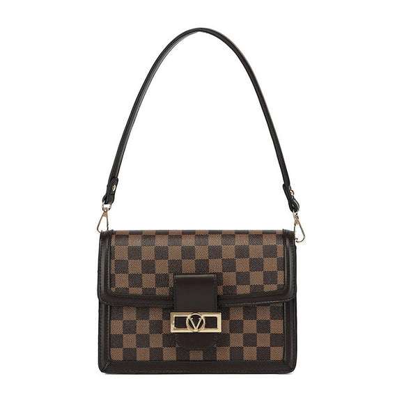 Dauphine Louis Vuitton Inspired Bag - Brown