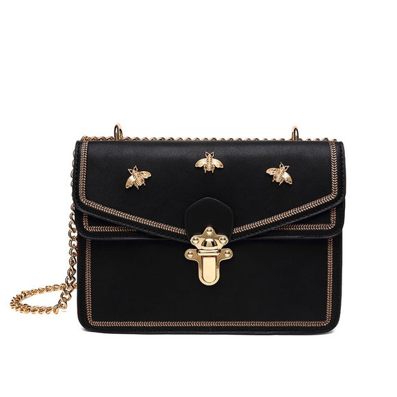 3996a46be Juliet Bee Gucci Inspired Bag - Black – Style Of Beyond