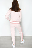 BB Designer Inspired Loungewear Set - Pink back