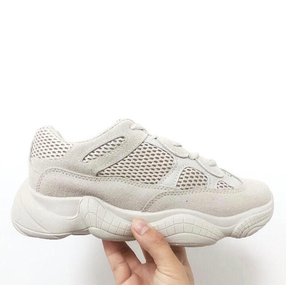 Boost Chunky Yeezy Inspired Trainers - Nude