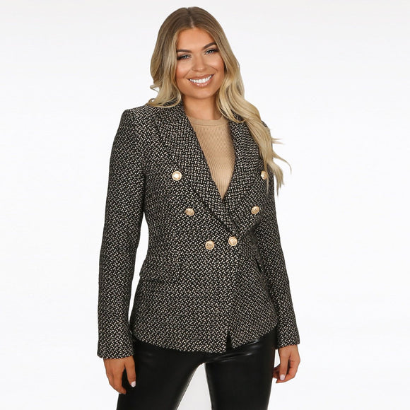 Esme Tweed Balmain Inspired Tailored Blazer