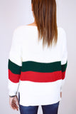 Erin Striped Knitted Gucci Inspired Jumper - BACK