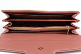 Venus Marmont Designer Inspired Purse - Pink internal view