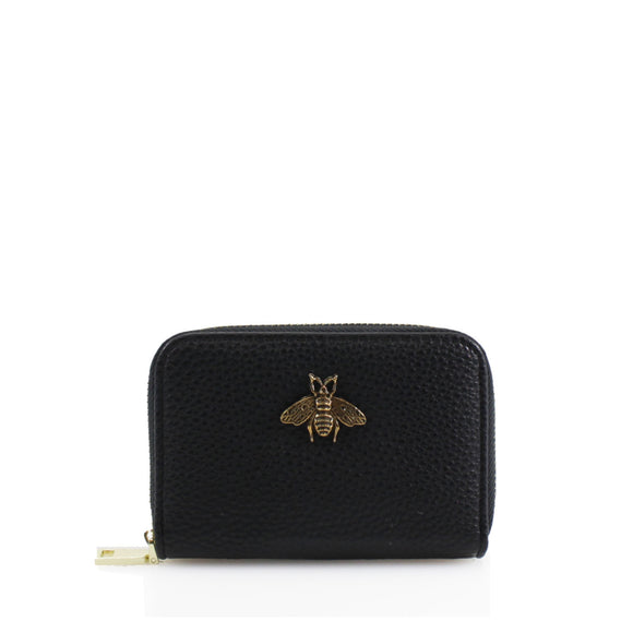 Carmen Bee Designer Inspired Card Holder - Black