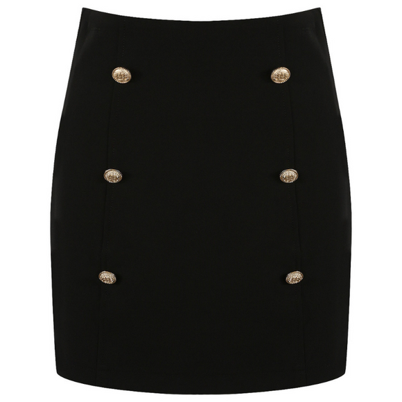 Victoria Balmain Inspired Skirt - Black