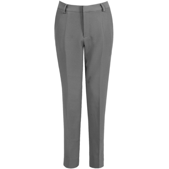 Shannon Designer Inspired Tailored Trousers - Grey