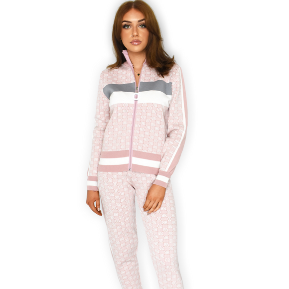 BB Designer Inspired Loungewear Set - Pink