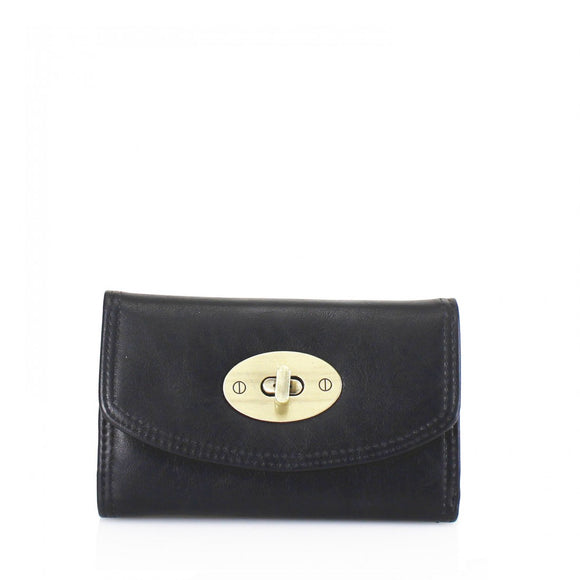 Kara Mulberry Inspired Purse / Wallet - Black