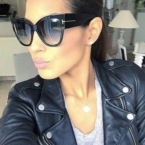 So Chic Tom Ford Inspired Sunglasses - Black