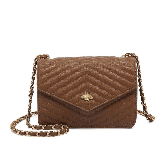 Brenda Bee Gucci Inspired Bag - Brown