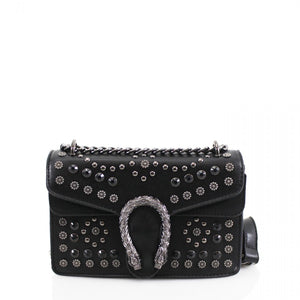 81bd200d4aa4 Ulani Gucci Inspired Studded Dionysus Bag - Black – Style Of Beyond