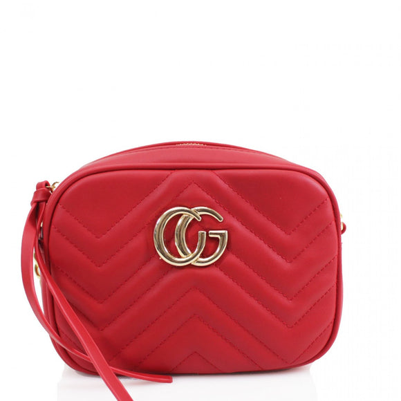 Zuri Marmont Gucci Inspired Bag - Red