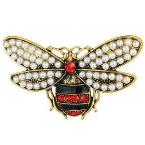Leah Gucci Inspired Bee Brooch