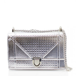6e535931ada0 Drama Metallic Dior Inspired Bag - Silver – Style Of Beyond