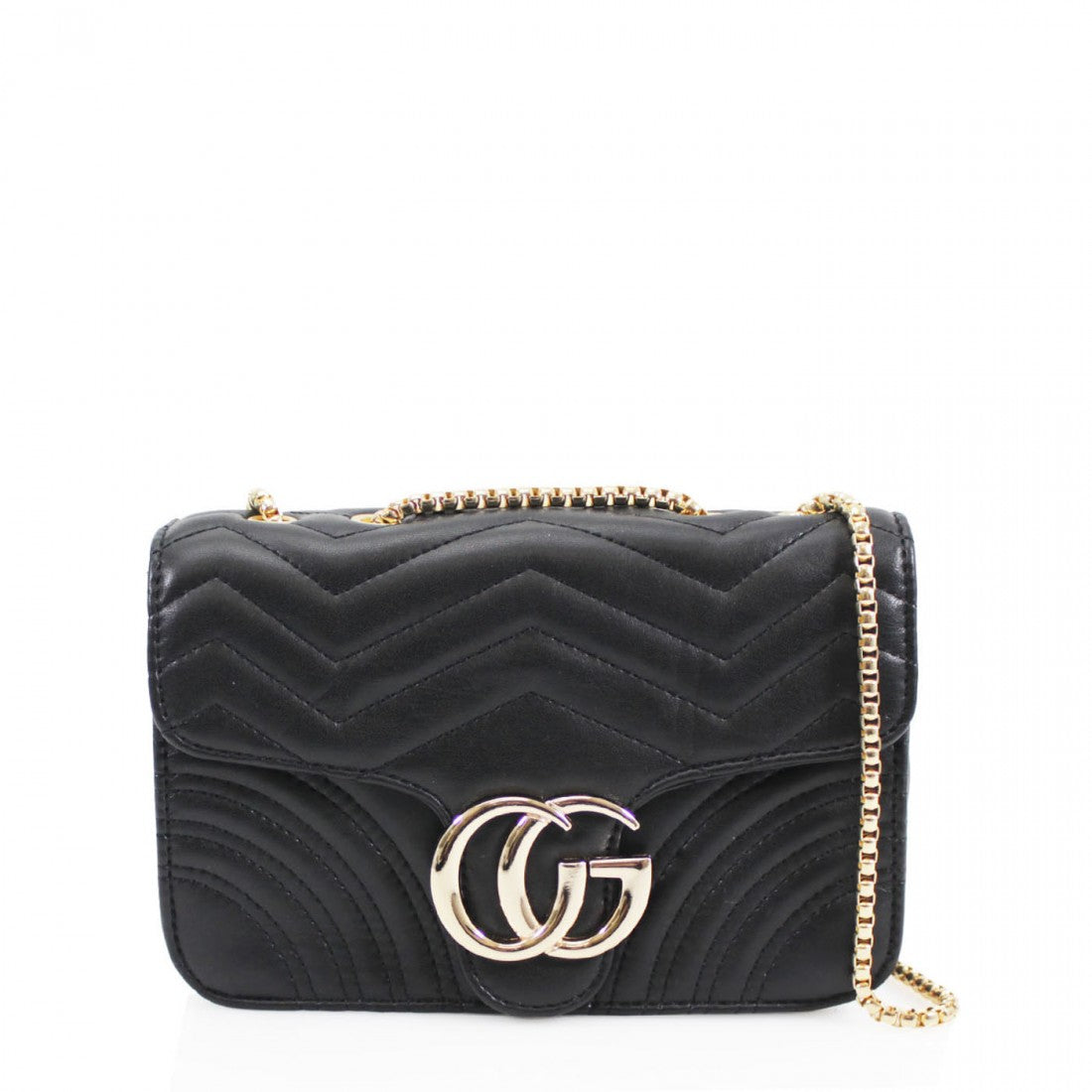 3d8418550 Talia Crossbody Gucci Inspired Marmont Bag - Black – Style Of Beyond