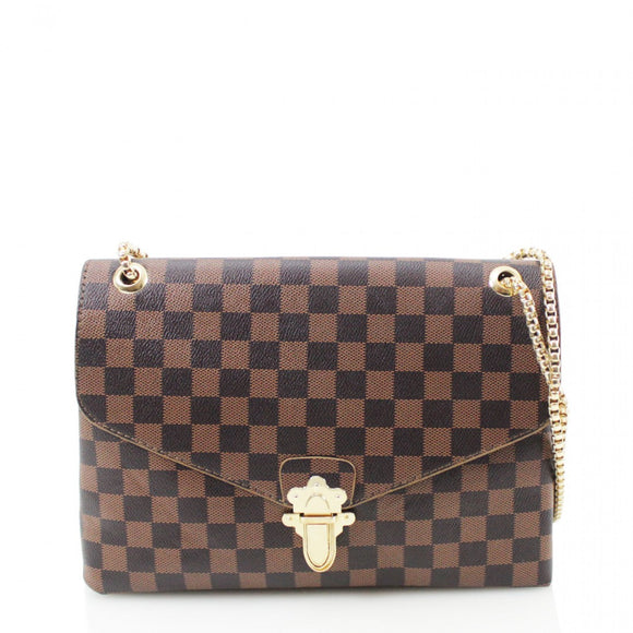 Date Night  Louis Vuitton Inspired Bag - Brown Check.   dbe0655215cb3