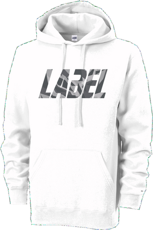 White Label Hoody - Grey Logo