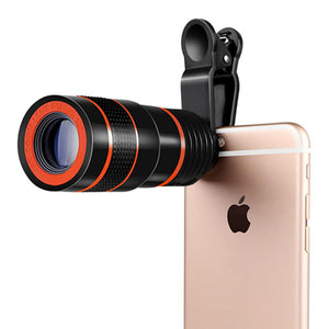 8X Zoom Camera Telescope Lens