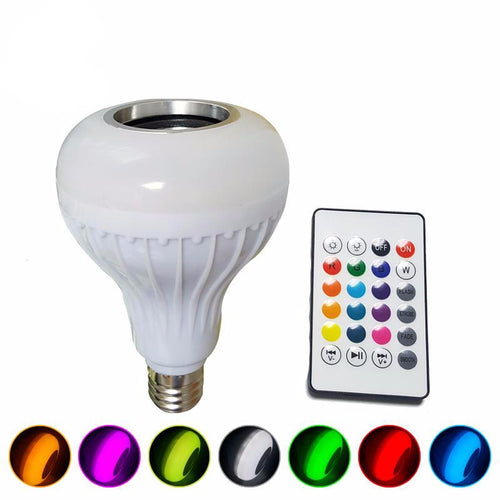 Smart Bluetooth Speaker LED Bulb