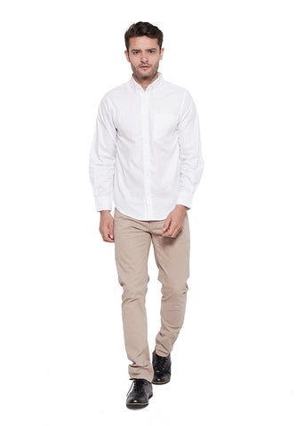 Addison Shirt White