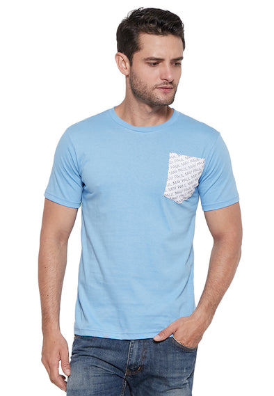 Mike T-Shirt Light Blue