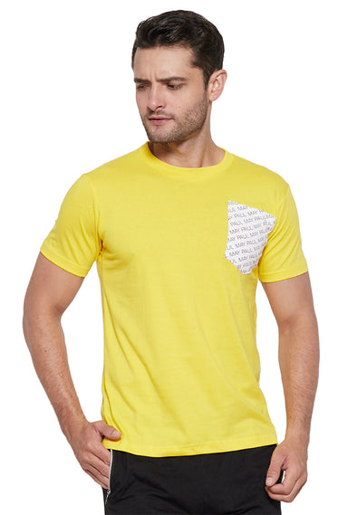Mike T-Shirt Yellow
