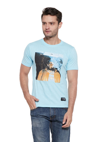 Sterne T-shirt Light Blue