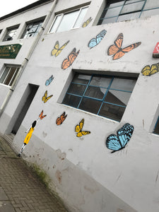 Tabby Street Art Installation - Create What You Dream