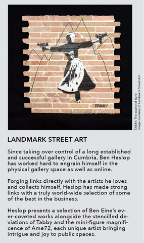 Landmark Street Art at Moniker Art Fair London 2018