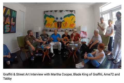 Martha Cooper Blade, Ame72 and Tabby Interview of Street art & Graffiti: Washington June 2019