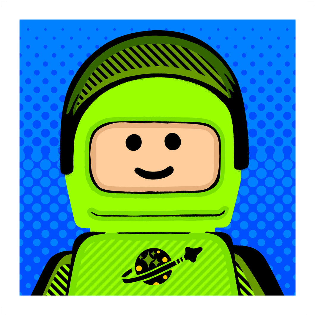 Ame72: Spaceman Pop Green