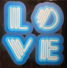 Ben Eine Original Neon Love Canvas For Sale