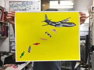 Joe Webb Candy Bomb (Yellow) - Silkscreen
