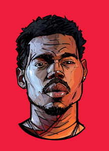 Will Prince Pop Art: Chance The Rapper