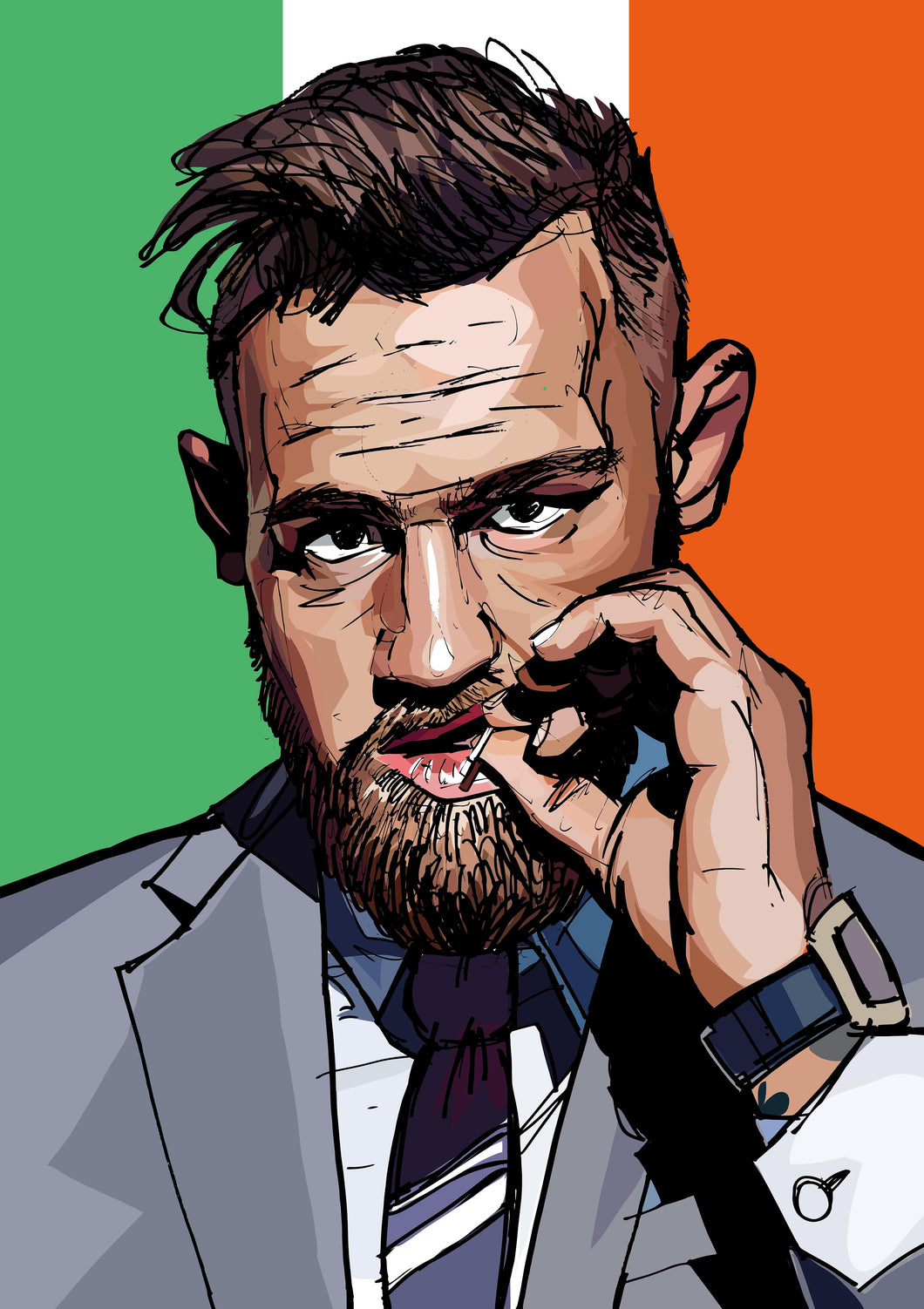 Will Prince Pop Art Connor McGregor