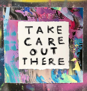 Lucie Flynn Take Care Out There Limited edition print for sale