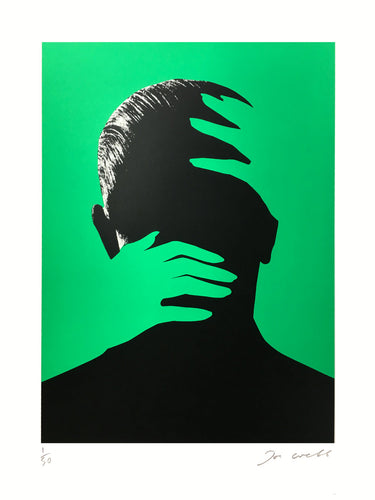 Joe Webb Embrace Green - Silkscreen