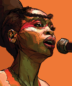 Will Prince Pop Art Erykah Badu