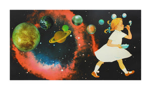 Joe Webb Playing God- Silkscreen